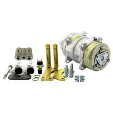 Allis Chalmers   AGCO Allis 7020 Tractor Conversion Kit Delco A6 to Sanden Style Compressor - New