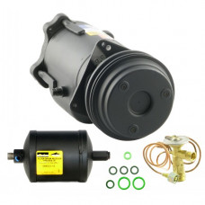John Deere 1075 Combine Compressor/Drier/Valve Kit - with New Compressor | 888301730