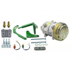 John Deere 4640 Tractor Conversion Kit Delco A6 to Sanden Style Compressor - New