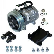 International Harvester 1566 Tractor Conversion Kit York to Sanden Style Compressor - New