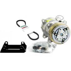Case | Case IH 2594 Tractor Conversion Kit York to Sanden Style Compressor - New