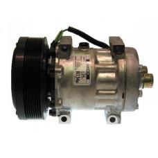 Case | Case IH 521D Wheel Loader Sanden Compressor with Serpentine Clutch - New