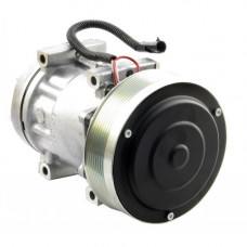Ford | New Holland TJ530 Tractor Sanden Compressor with Serpentine Clutch - New
