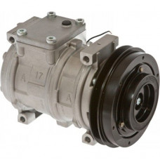John Deere 744H Wheel Loader Nippondenso Compressor with Clutch - New