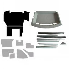 Case | Case IH 8910 Complete Cab Interior Kit - Gray
