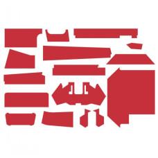 Versatile 1150 Cab Kit without Headliner - Red