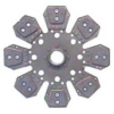 "Deutz/Deutz Allis 13-3/4"" Disc - 7 Pad, with 1-7/8"" 22 Spline Hub - D4359388N"