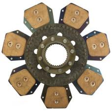 "Deutz/Deutz Allis 13-3/4"" Disc - 7 Pad, with 2-3/4"" 34 Spline Hub - D4359406N"