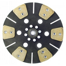Ford | New Holland 4610 Tractor 11 inch Disc - 6 Pad Solid Center Only with 1 inch 10 Spline Hub - New