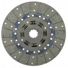 Ford | New Holland 6600 Tractor 12 inch Disc - Woven Spring Center with 1-3/4 inch 10 Spline Hub - New