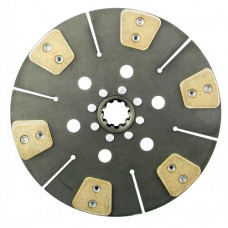 Ford | New Holland 6640 Tractor 13 inch Disc - 6 Pad Solid Center with 1-3/4 inch 10 Spline Hub - New