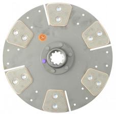 John Deere 4420 Combine 11 inch Disc - 5 Pad with 1-3/8 inch 10 Spline Hub - New