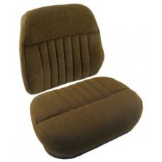 Gleaner R50 Brown Fabric Cushion Set