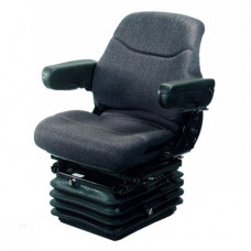 Deutz | Deutz Allis 9170 Gray Fabric Seat with Air Suspension