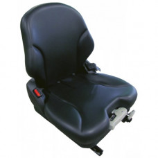 John Deere 1435 Black Vinyl Seat with Mechanical Suspension
