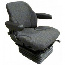 Case | Case IH 5140 Asphalt Gray Fabric Seat with Air Suspension