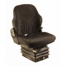 Caterpillar CB434DXW Black Fabric Seat with Air Suspension and Arm Rests