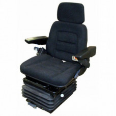 Case | Case IH 5140 Black Fabric Seat with Mechanical Suspension and Swivel