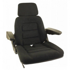 Deutz | Deutz Allis DX4.70 Black Fabric Seat without Suspension