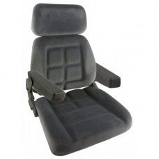 Allis Chalmers | AGCO Allis 9695 Gray Fabric Seat without Suspension