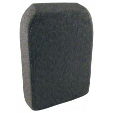 Case | Case IH STX480 Gray Fabric Back Cushion (SA358340(STX480))