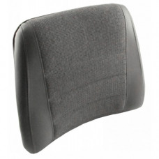 Deutz | Deutz Allis 9170 Gray Vinyl and Fabric Back Cushion