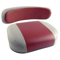 Massey Ferguson Super 95 Red and Gray Vinyl Cushion Set