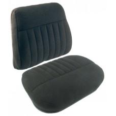 Massey Ferguson 320 Industrial Tractor Black Fabric Cushion Set