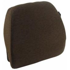 John Deere 7600 Dark Kayak Brown Fabric Back Cushion with Lumbar