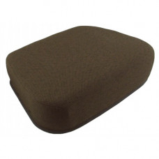 John Deere 9410 Dark Kayak Brown Fabric Seat Cushion