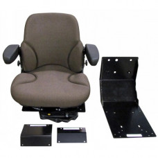 John Deere 9940 Brown Fabric Seat with Air Suspension