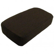 John Deere 9410 Dark Kayak Brown Fabric Arm Rest Cushion for Side Kick Seat