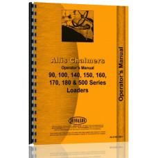 Allis Chalmers 160 Farm Loader Operators Manual