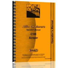 Allis Chalmers C106 Scraper Operators Manual