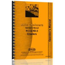 Allis Chalmers HD3 Crawler Operators Manual