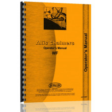 Allis Chalmers WF Tractor Operators Manual