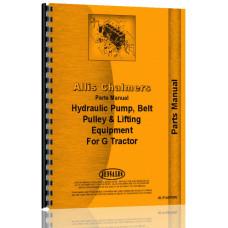 Allis Chalmers G Hydraulics Parts Manual