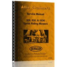 Allis Chalmers 1036 Lawn & Garden Tractor Service Manual