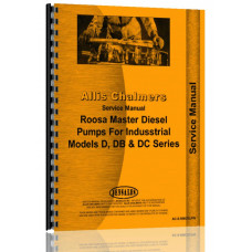 Allis Chalmers DB Injection Pump Service Manual