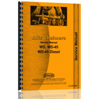 Allis Chalmers WD45 Tractor Service Manual (1953-57)
