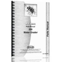 Le Tourneau 550 Grader Parts Manual