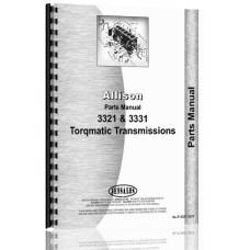 Allison 3321 Power Tran Parts Manual