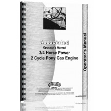 Associated Pony 3/4 HP Engine Operators Manual