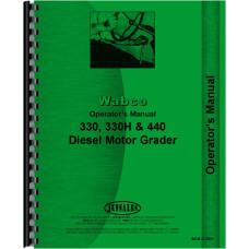 Le Tourneau 440 Grader Operators Manual
