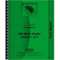 Adams 440 Grader Parts Manual