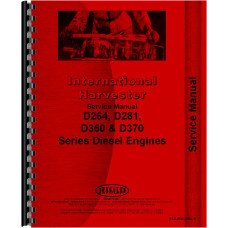 Hough HLD Pay Loader IH Engine Service Manual (SN# 156267 and UP) (Engine)