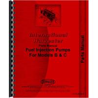 Galion 104 Grader IH Engine Injection Pump Parts Manual (SN# 0-1001)