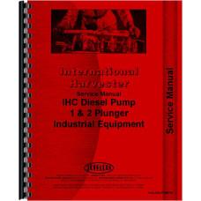 International Harvester UD370 Power Unit Diesel Pump Service Manual