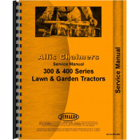 Allis Chalmers 314 Lawn & Garden Tractor Service Manual