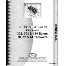Allis Chalmers 44 Bale Thrower Parts Manual